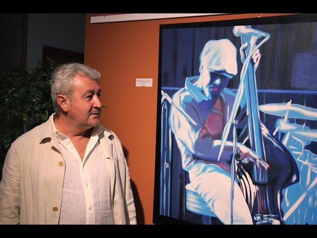 El artista Alberto Arráez presenta su 'Ensayo sobre el alma del Jazz'