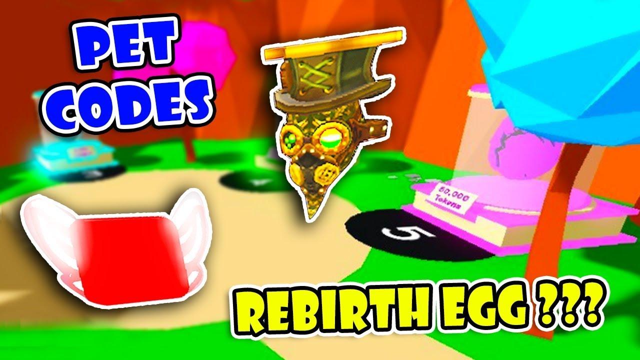 5 NEW REBIRTH EGGS IN NEXT UPDATE ?? & 3 SECRET PET CODES In HAT SIMULATOR!  [Roblox]