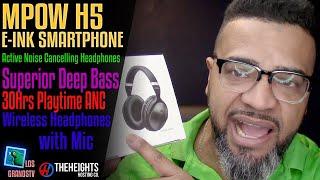 #Mpow H5 Noise Cancelling Headphones 🎧 : #LGTV Review