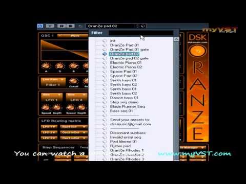 DSK OranZe - Free VST - myVST Demo