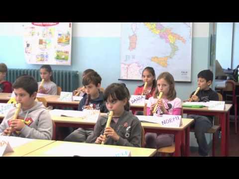 La classe IV B della Scuola Primaria Ramella presenta: L'ora di musica