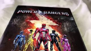 Power rangers Best Buy exclusive blue ray unboxing + digital copy giveaway