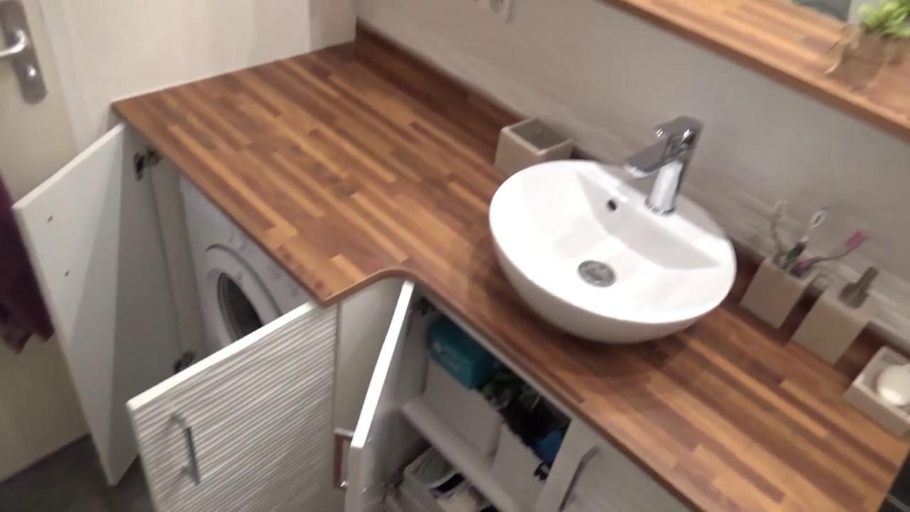 modele de meuble salle de bain louis lave linge integre par atlantic bain
