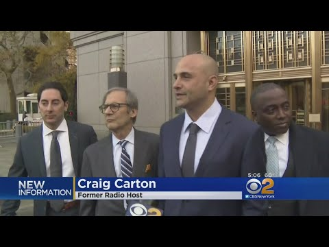 Former WFAN Host Craig Carton Convicted Of Fraud