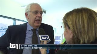Prof. Bruno Siciliano interview - RAI Tg1- 2 Apr 2019