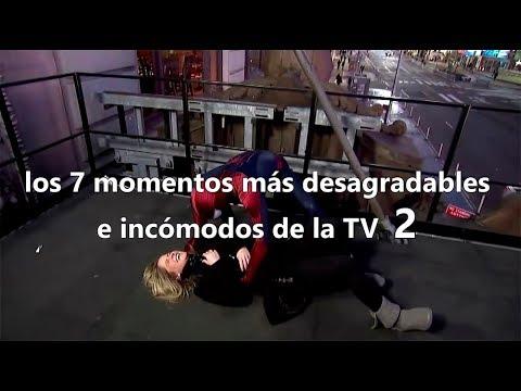 TOP: Los 7 momentos más desagradables e incómodos en la TV - II