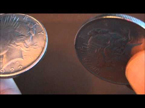 Another Counterfeit 1922 Peace 'Silver Dollar'
