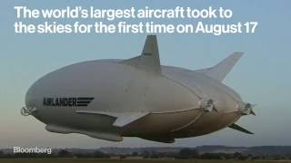 The World's Largest Aircraft Just Made Its First Flight