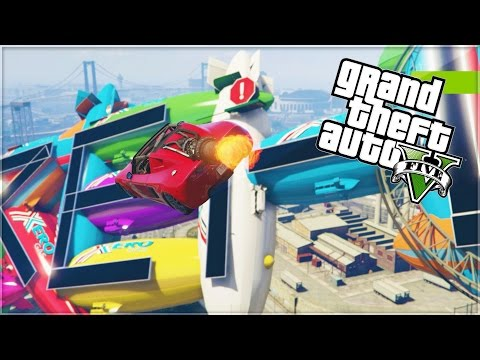 INVISIBLE ROADS IN GTA V?! (GTA 5 Funny Moments)