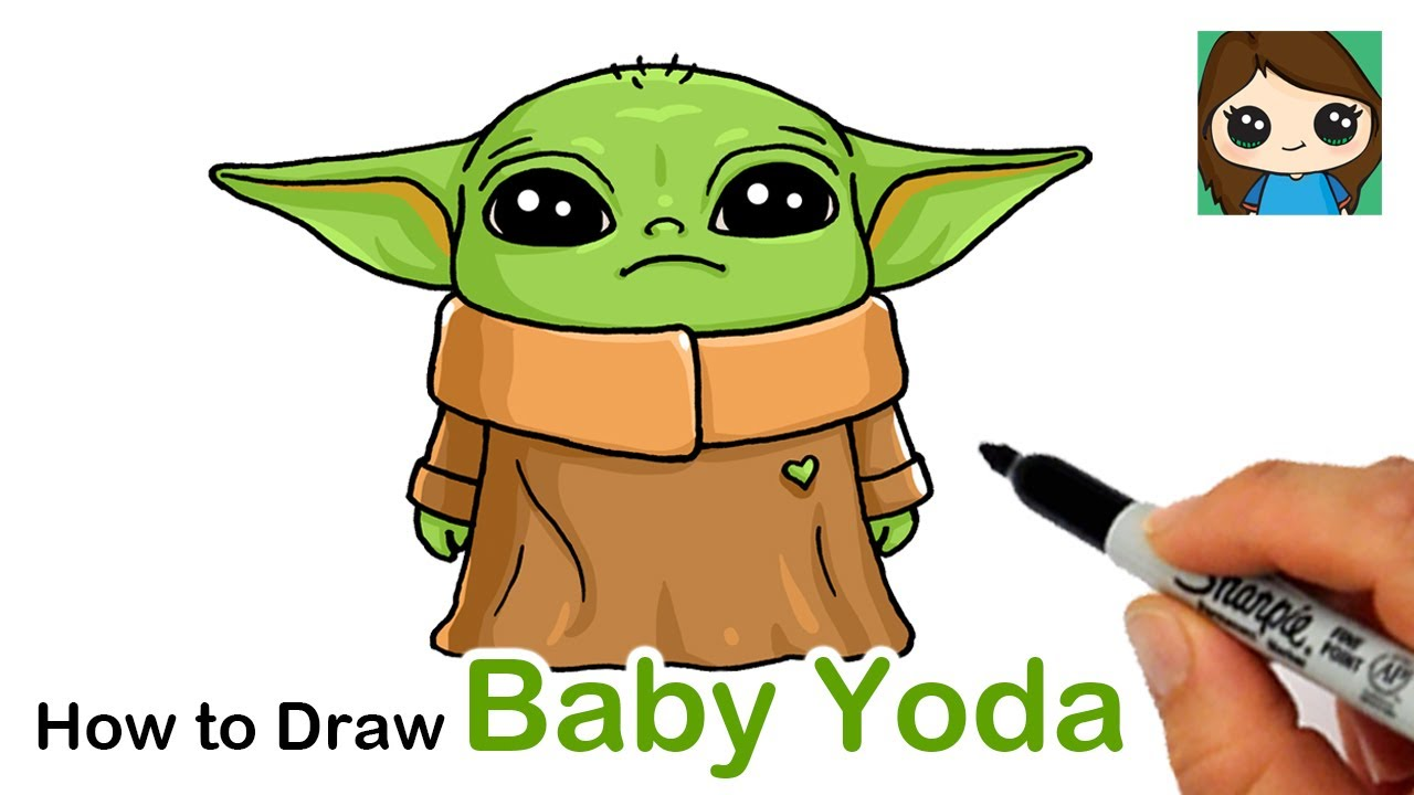 Baby Yoda Coloring Pages Printable - Free Printable ...