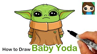 How to Draw Yoda Baby