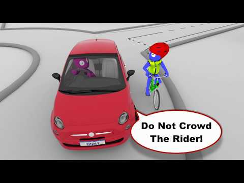 Roundabout Safety for Cyclists and Motorists