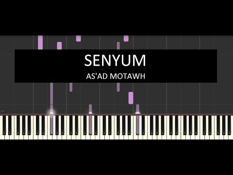 As'ad Motawh - Senyum [Instrumental Piano Cover]
