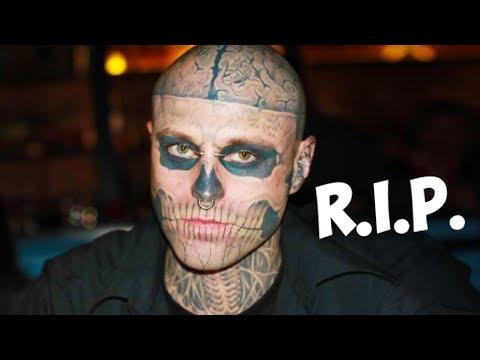 Rick Genest aka Zombie Boy: RIP