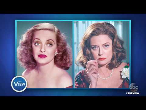 Susan Sarandon on 'Feud', Sexism and Ageism in Hollywood, Pres. Trump & More | The View