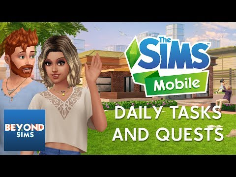 DAILY TASKS AND QUESTS TUTORIAL | The Sims Mobile