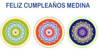Medina   Indian Designs - Happy Birthday