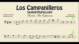Los Campanilleros Sheet Music for Trombone, Tube and Euphonium