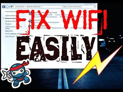 FIX WIFI PROBLEM IN FEW STEPS EASILY
