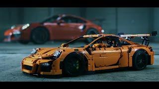 тизер на новый видос LEGO Porsche 911 GT3 RS в 3D