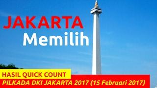 HASIL QUICK COUNT PILKADA DKI JAKARTA 2017 (15 Februari 2017)