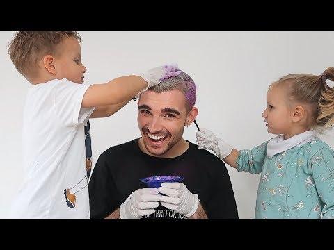 My Niece And Nephew Dye My Hair