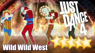 5☆ Stars - Wild Wild West - Just Dance 4 - Wii U