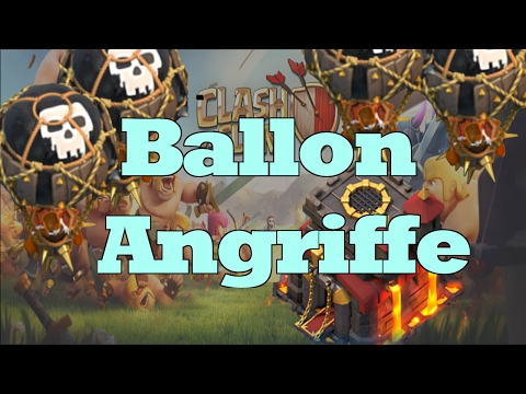 Clash of Clans Ballon Angriffe / Bilanz   Deutsch