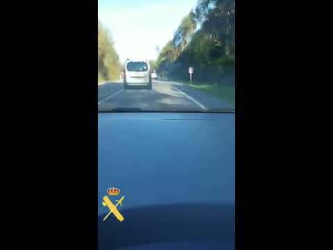 Interceptado un conductor temerario gracias a la colaboración ciudadana