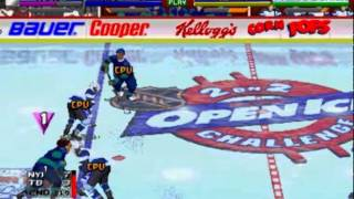 NHL Open Ice   2 on 2 Challenge MAME   New York Islanders vs Tampa Bay Lighting