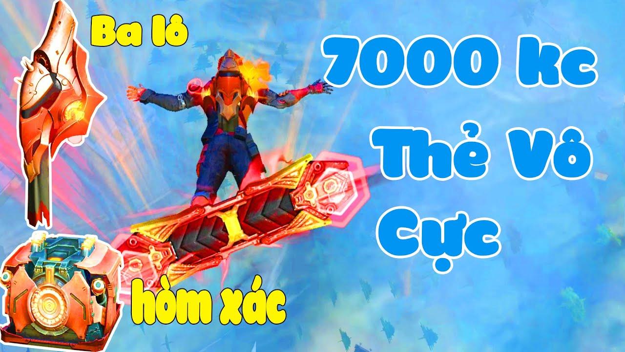 ONE BỎ 7000KC VÔ THẺ VÔ CỰC TRONG FREE FIRE