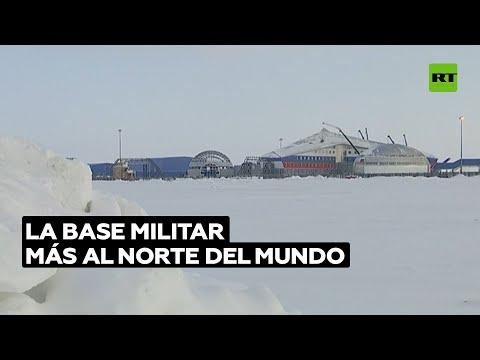 'Trébol ártico': la base militar más septentrional del mundo | @RT Play en Español