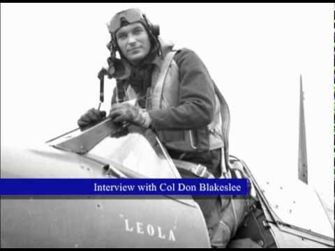 Donald James Matthew Blakeslee, D.F.C. - RCAF Volunteer Part 3.avi