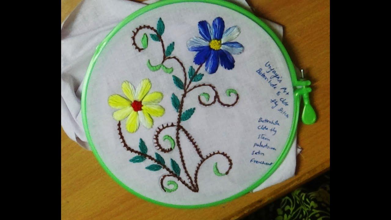 Buttonhole Stitch Embroidery Designs