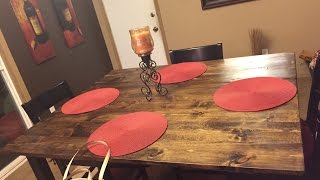 Diy Rustic Wood Table Top