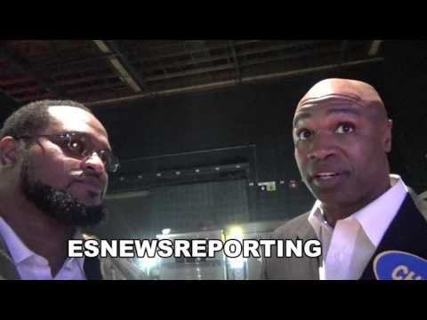 JAMES TONEY blows up interview when LAMON BREWSTER defends wilder! EsNews Boxing