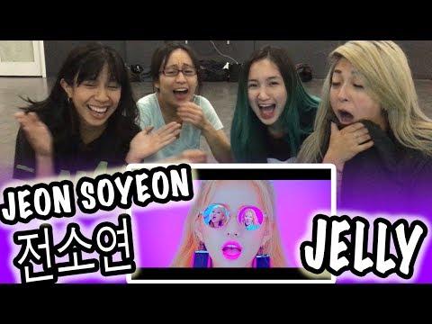 [KPOP REACTION] JEON SOYEON 전소연 -- JELLY