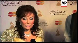 Stars gather to honor country music legend Loretta Lynn