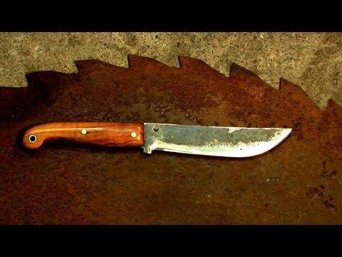Messer einfach selbst gemacht (Teil1) FORGE A KNIFE - YouTube