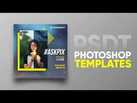 "The New ""PSDT"" File To Create Photoshop Templates!"