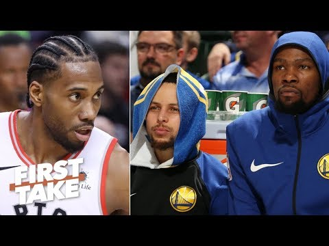 Kevin Durant and Steph Curry don't have Kawhi's 'killer' mentality - Max Kellerman | First Take