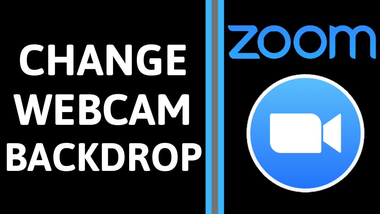 How To Change The Background In Zoom With Virtual Background Without A Green Screen Youtube