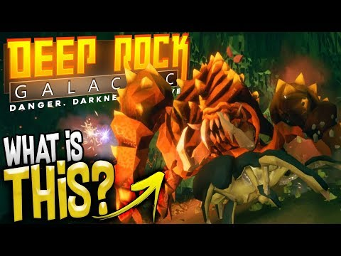 The Largest Cave Creature! - The Dreadnought - Deep Rock Galactic Multiplayer Gameplay