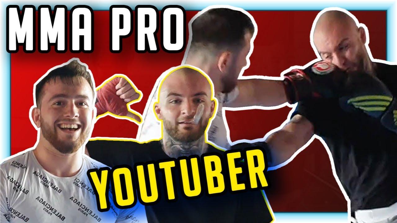 YOUTUBER gegen MMA FIGHTER! RICHTIG oder HANDICAP Sparring #1 RINGLIFE