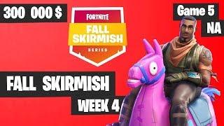 Fortnite Fall Skirmish - Week 4 Game 5 BIG BONUS (SOLOS)