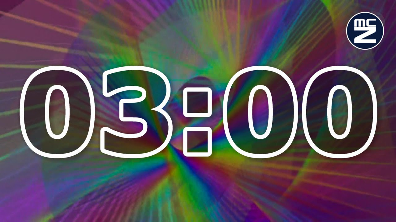 conto alla rovescia 3 minuti - 3 minute countdown