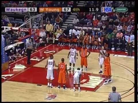 2009 IHSA Boys Basketball Class 4A Championship Game: Chicago (Whitney Young) vs. Waukegan (H.S.)