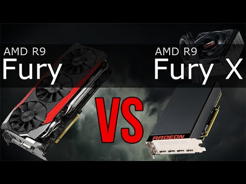 AMD R9 Fury Vs R9 Fury X
