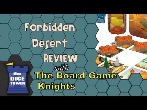 Forbidden Desert Review - With The Board Game Knights