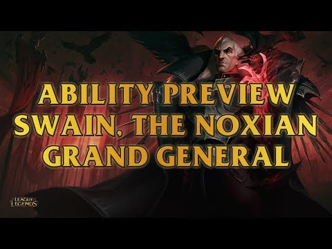 Swain, The Noxian Grand General Ability Preview